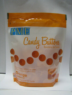 ORANGE Candy Buttons - Melts for Cake Pops or Moulds 12oz (like Wilton)