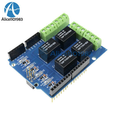Four channel Relay Shield 5V 4 Channel Relay Shield Module for Arduino