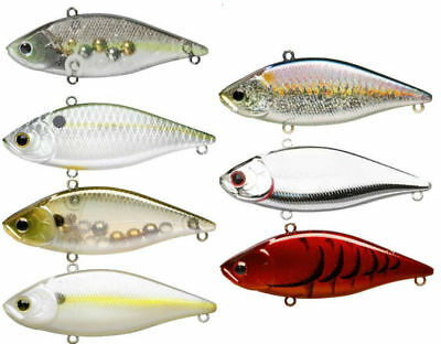 Lucky Craft LV 500 Max - 3 inch Lipless Crankbait - Bass & Walleye Fishing Lure
