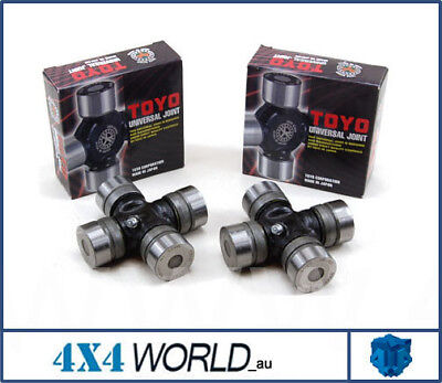 Toyota Landcruiser HZJ75 FZJ75 Universal Joints Rear (2) - Rear: Japanese