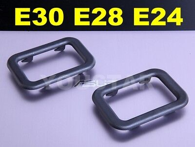 AU STOCK x2 Interior Door Handle Surrounds for Classic BMW E30 E28 E24 E23