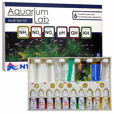 Nt Labs Aquarium Lab Multi-Test Kit Ntlabs Water Testing Tropical Fish Tank