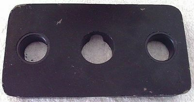 Used 5 lb Stack Plate Weight for standard 7/8 inch guide rail