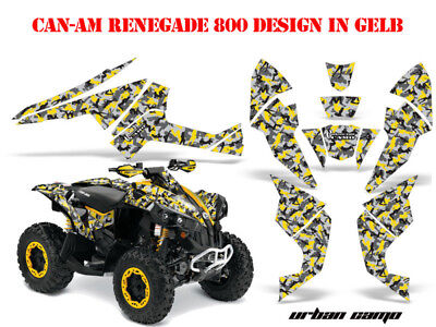 Amr Racing Dekor Kit Atv Can-Am Renegade,ds250,ds450,ds650 Graphic Urban Camo B