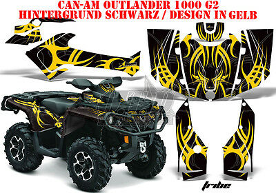 Amr Racing Dekor Kit Atv Can-Am Outlander Std & Xmr/max Graphic Kit Tribe B