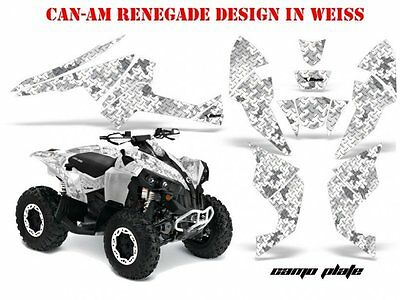 Amr Racing Dekor Kit Atv Can-Am Renegade, Ds250,ds450,ds650 Graphic Camoplate B