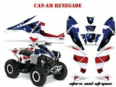 Amr Racing Dekor Kit Atv Can-Am Renegade, Ds250, Ds450, Ds650 Stars N Stripes B