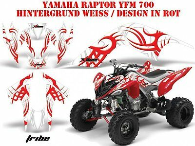Amr Racing Dekor Graphic Kit Atv Yamaha Raptor 125/250/350/660/700 Tribe B