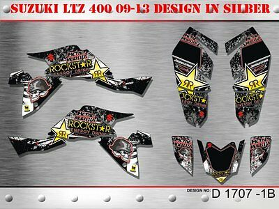Motostyle Dekor Kit Atv Suzuki Ltz 400 Ab 09 Graphic Kit D1707 B