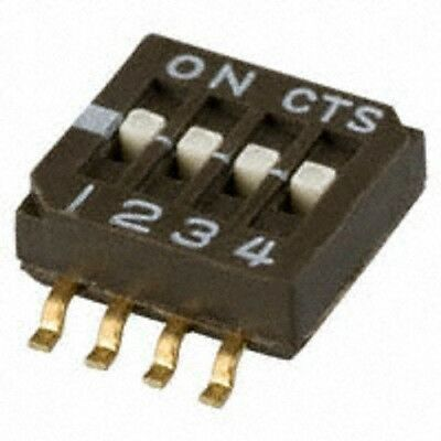 Switch Cts 218-4Lpst Switch Dip Half Pitch 4Pos 50V