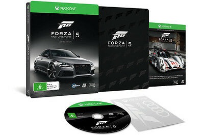Forza Motorsport 5 Limited Edition Xbox ONE AUS EDITION *BRAND NEW* + Warranty!!