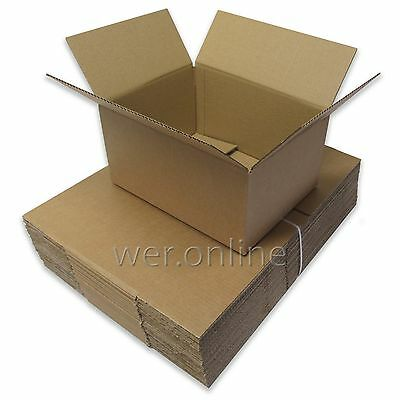 """12"""" x 9"""" x 6"""" A4 Size Postal Mailing Cardboard Boxes Single Walled-Multi Listing"""