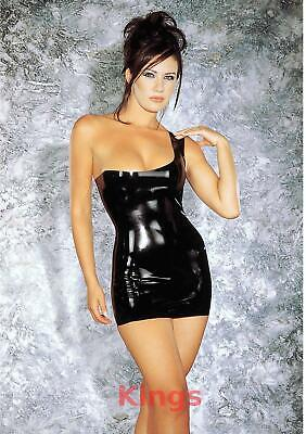 Sharon Sloane Latex Dress Uptown Girl Sexy Lingerie Rubber Fancy Dress