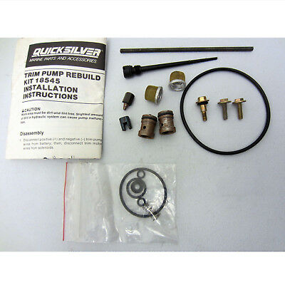Mercruiser New OEM Power Trim & Tilt Pump Repair Rebuild Kit 18545A1, 18545A 1