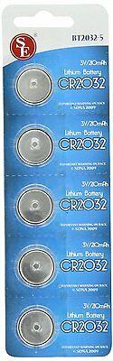 New 25 CR2032 DL2032 ECR2032 5004LC 3 Volt Lithium Button Cell Battery USA