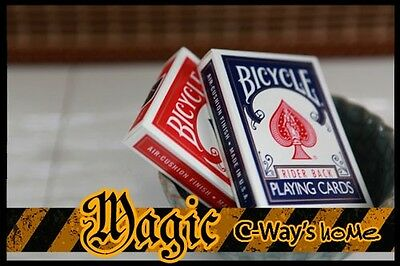 X001 New 2 Classic Bicycle Decks Standard Size Poker Playing Cards (Blue+Red)