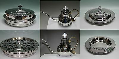 Stainless Steel Communion Tray set (Flagon, Juice tray and Bread tray  )