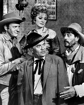 8x10 Print James Arness and Cast Gunsmoke 1955 #3