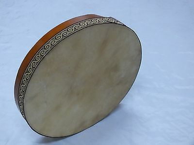 UNOSELL ::  40 x 6 cm  ANIMAL SKIN BENDIR TURKISH PERCUSSION  FRAME DRUM NEW!!!