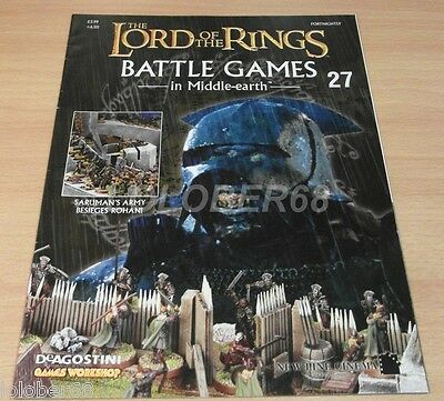 LORD OF THE RINGS Battle Games in Middle-earth Magazine Issue 27
