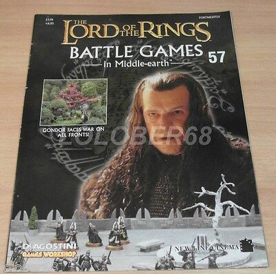 LORD OF THE RINGS =Battle Games in Middle-earth= Magazine Issue 57