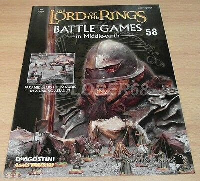 LORD OF THE RINGS =Battle Games in Middle-earth= Magazine Issue 58