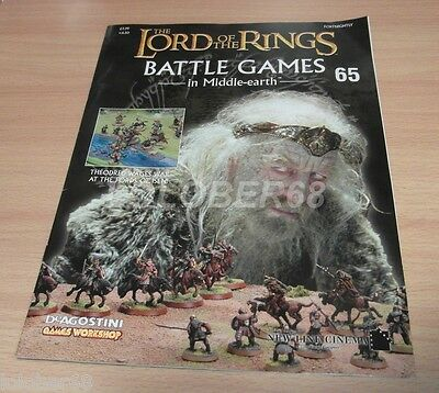 LORD OF THE RINGS =Battle Games in Middle-earth= Magazine Issue 65