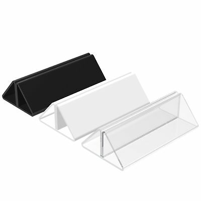 Menu Showcard Leaflet Holders Acrylic Wedding Table Place Name Setting Displays