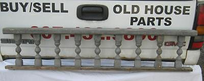 Antique Victorian Porch Gingerbread Spindle Span Grey Architectural #2623-13