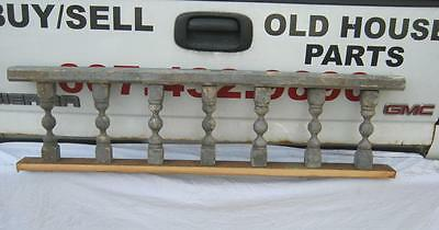 Antique Victorian Porch Gingerbread Spindle Span Grey Architectural #2625-13
