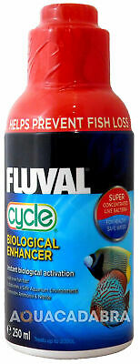 FLUVAL CYCLE BIOLOGICAL 250ml WATER FILTER BACTERIA FISH TANK FRESH NUTRAFIN