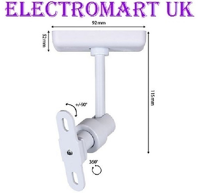 Speaker Loudspeaker Bracket Ceiling Mount White X 1