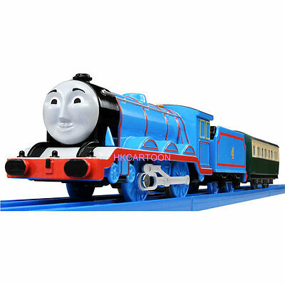Tomy Trackmaster Thomas&friends Ts-04 Gordon With 2 Trucks Motorized Train