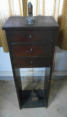Antique Vintage Jewelers Watch Repair Cabinet-Germanow Simon Co. Rodchester, N.y