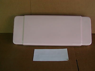 Case 1000 Pink Toilet Tank Lid Excellent! Dated 1/1/57