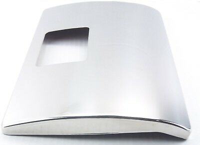 Glove box cover stainless steel edges covered for Peterbilt 01-05 handle cutout