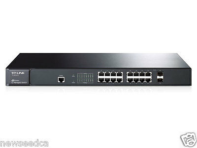 TP-Link TL-SG3216 JetStream™ 16-Port Gigabit L2 Managed Switch with 2 Combo SFP
