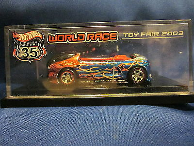 Hot Wheels Toy Fair 2003 World Race Highway 35 Derora