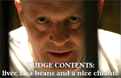 Silence Of The Lambs Hannibal Lecter Fridge Magnets
