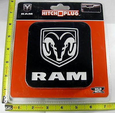 Dodge Ram Hitch Cover Plug Solid Metal Truck Trailer New L886