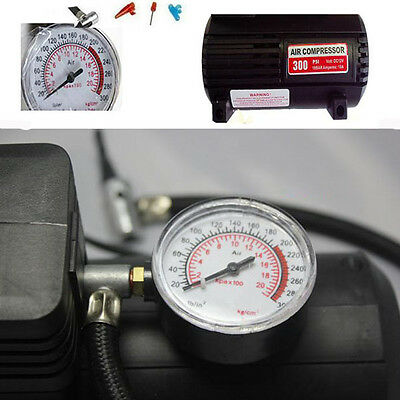 New Mini Air Compressor 12V Auto Car Portable Electric Tyre Pump Inflator 300PSI