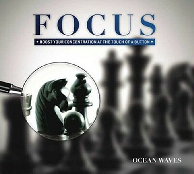 Focus 2 Cd Set *New* Boost Concentration - Ocean Waves