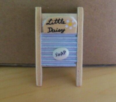 Dolls House  Washboard And Soap