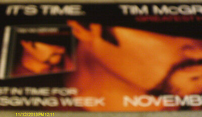 Tim McGraw Greatest Hits Double Poster Flat 2000
