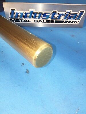 "1-1/2"" Diameter x 6""-Long 360 Brass Round Bar-->1.5"" Dia 360 Brass LATHE STOCK"
