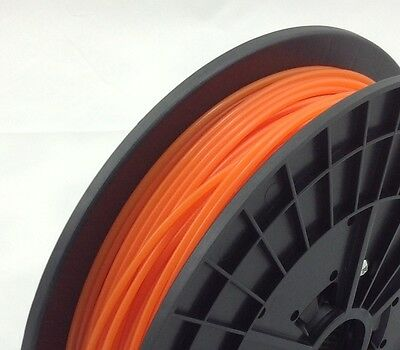 3D Printer Filament - Orange 1.75mm PLA - 100m 50m  20m 10m Reprap, makerbot, UP