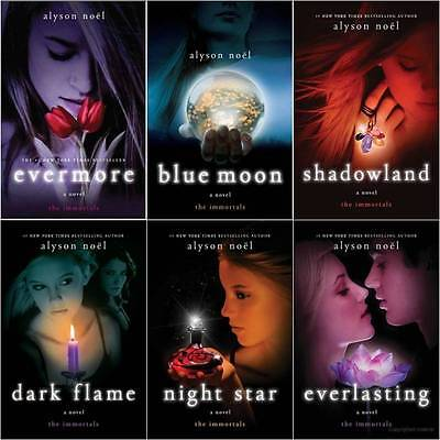 Immortal Series 6 book collection by Alyson Noel