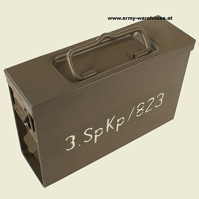 österr. Bundesheer Munitionsbox 7,62 orig. ÖBH , Austrian Army Ammunition Box 1