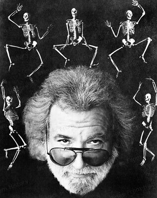8x10 Print Jerry Garcia Grateful Dead  #9326