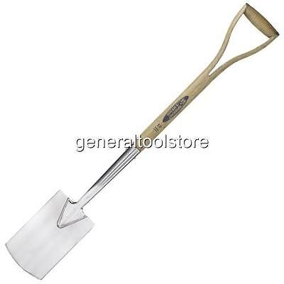 Stainless Steel Border Spade   Spear And Jackson Ash Handle Traditional